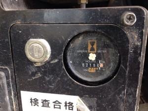 CAT 304CR アワーメーター