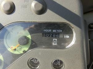 ヤンマー VIO30-2 アワーメーター
