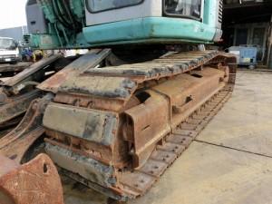 コベルコ建機 SK130UR-1E 鉄パッド