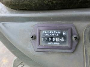 ヤンマー SV08 アワーメーター