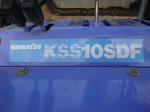 除雪機 コマツ KSS10SDF