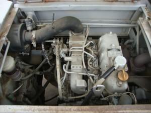 古河 FL35-2 エンジンルーム