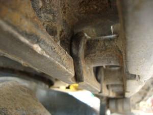 コマツ PC50MR-2 トラックリンク