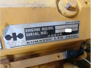 コマツ WA70-1 エンジンモデル