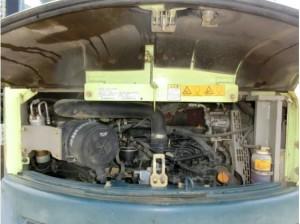 ヤンマー B7-5A エンジンルーム